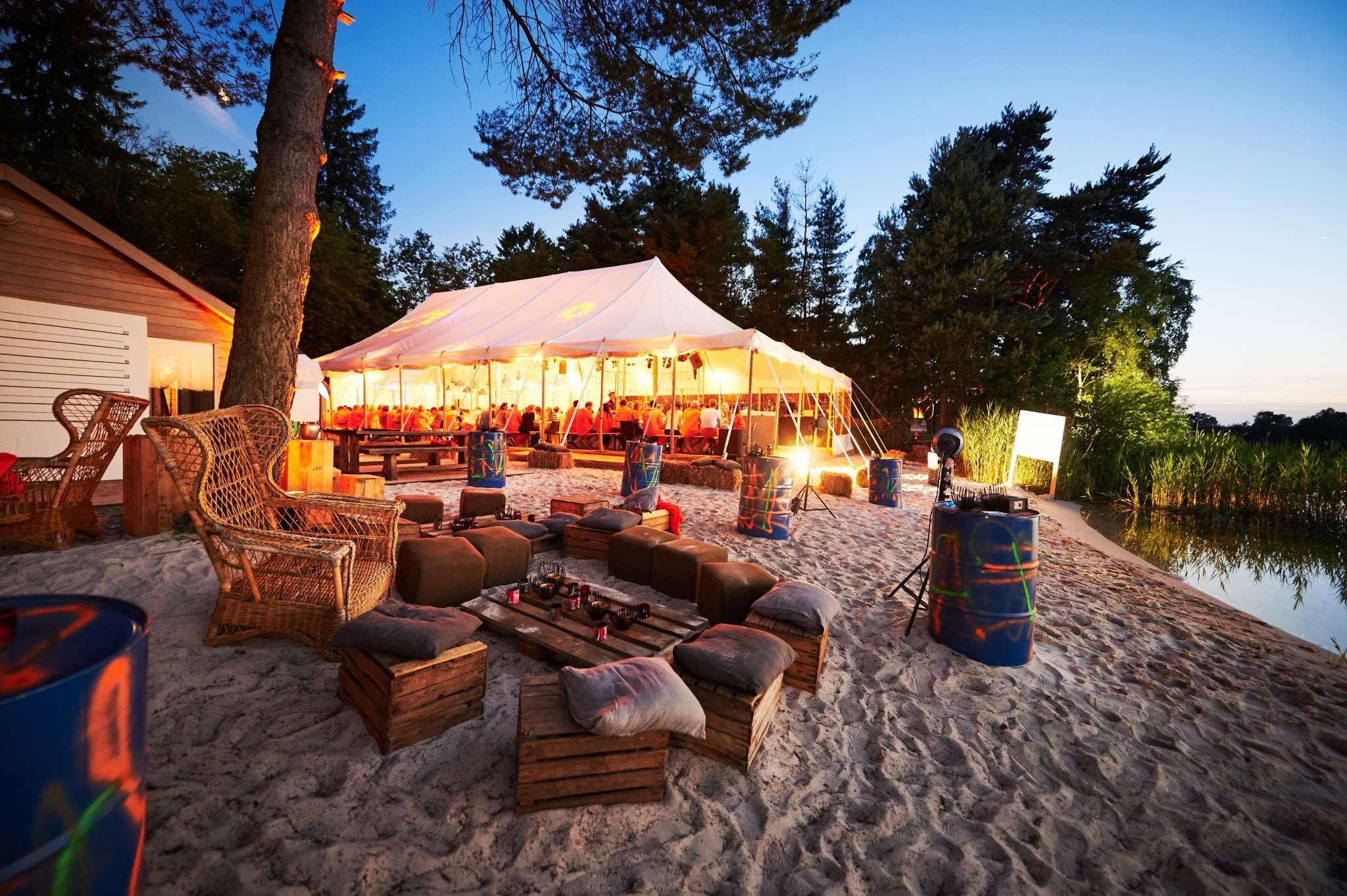 all-loc renting selling tent marquee belgium france switzerland luxembourg Bambou Tent Lommel
